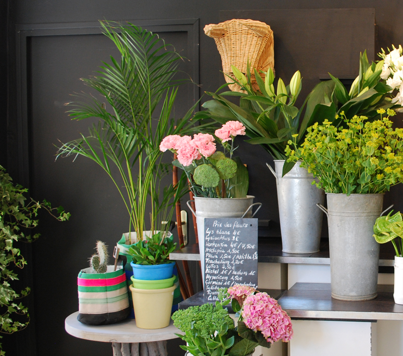 visual merchandising blomster